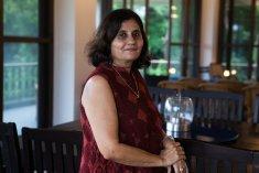 The gracious Niti Sampat-Patel hosted us at her Karjat space, Tara.