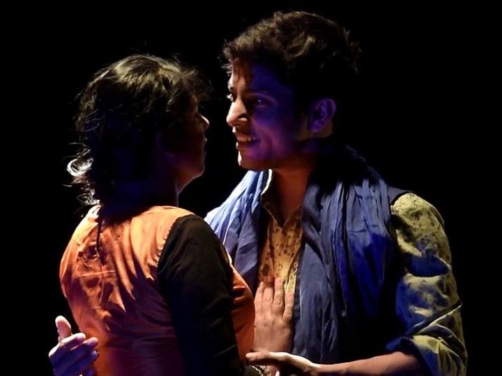 Niketa Saraf and Vipin Heero play Sassi and Punnuh