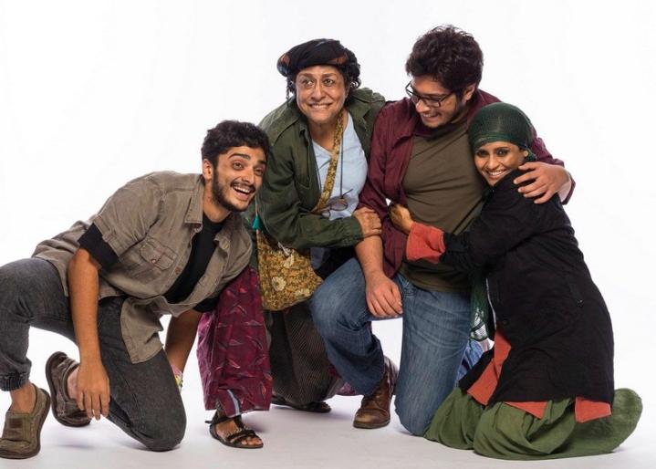 Abhishek Krishnan, Arundhati Nag, Junaid Khan and Bhavna Pani play the protagonists
